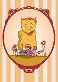Niedźwiedź na wakacje Fotografia Royalty Free