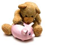 niedźwiedź oszczędne Obraz Stock
