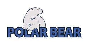 Niedźwiedź polarny ilustracja Zdjęcia Royalty Free