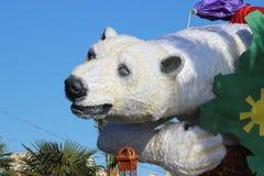 Niedźwiedź Polarny - karnawał Ładny 2016 Zdjęcie Royalty Free