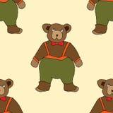 niedźwiedź rysująca ręka Zdjęcia Stock