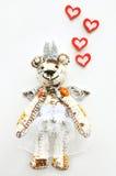 Niedźwiedź w miłości Zdjęcia Royalty Free