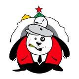 Niedźwiedź w swój melinie Obraz Royalty Free