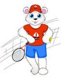 Niedźwiadkowa atleta Zdjęcie Stock