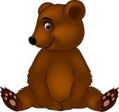 Niedźwiadkowa dziecko kreskówka Zdjęcie Stock
