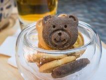 Niedźwiadkowi ciastka Fotografia Stock