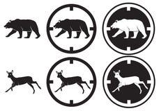 niedźwiadkowi rogacze ilustracja wektor
