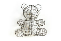 Niedźwiadkowy drut Fotografia Royalty Free