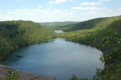 niedźwiadkowy fasoli jezioro Fotografia Royalty Free