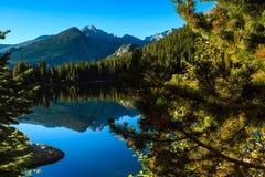 Niedźwiadkowy jezioro Zdjęcie Royalty Free