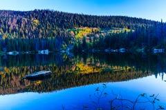 Niedźwiadkowy jezioro Fotografia Stock