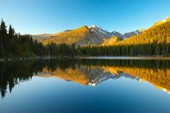 Niedźwiadkowy jezioro, Kolorado Fotografia Royalty Free