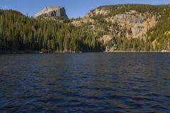 Niedźwiadkowy jezioro, Skalistej góry park narodowy Obrazy Stock