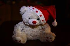 Niedźwiadkowy Santa kapelusz Obraz Stock