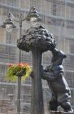 Niedźwiedzia i madrono drzewo madryt Hiszpanii Obrazy Stock