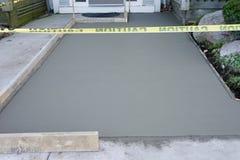 Niedawno Polany beton Zdjęcia Stock