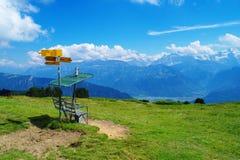 An Niederhorn-Berg Lizenzfreie Stockfotos