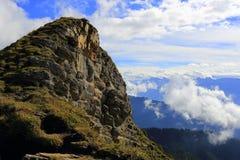 Niederhorn. Swiss mountain Niederhorn, a peak of the Emmental Alps in the Bernese Oberland near Beatenberg Stock Photo