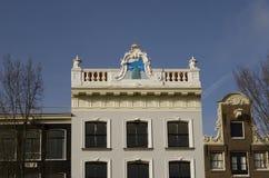 Niederländische Dachlinie Stockfoto