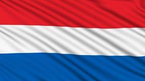 Niederländische Flagge. vektor abbildung