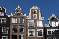 Niederländische Giebel Stockfotos