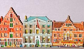 Niederländische Hausandenken stockbilder