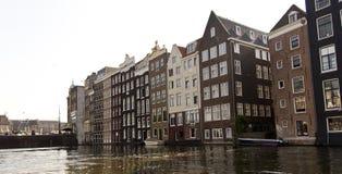 Niederländische (Holland-) Häuser Lizenzfreies Stockfoto