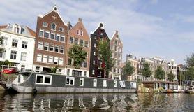 Niederländische (Holland-) Häuser und Windows Lizenzfreie Stockbilder