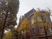 Niederländische Kirche im Fall Stockbilder
