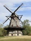 Niederländische Kittel-Mühle Stockfotos