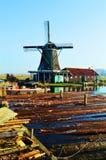 Niederländische Landschaft, Holland stockfoto