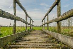 Niederländische Landschaften - Stoutenburg - Utrecht Lizenzfreies Stockfoto