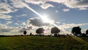 Niederländische Skyline stockfoto