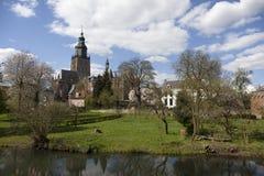 Niederländische Stadt Lizenzfreie Stockfotos