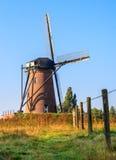 Niederländische Windmühle Stockfotos