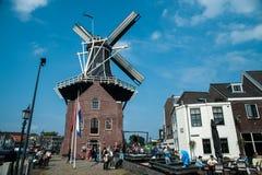 Niederländische Windmühle Adriaan Lizenzfreies Stockbild