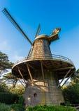 Niederländische Windmühle - Golden Gate Park, San Francisco Stockbild