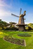 Niederländische Windmühle - Golden Gate Park, San Francisco Stockfoto