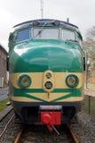 Niederländischer elektrischer Zug Materieel '54 (Matte '54) - Hondekop der Weinlese Lizenzfreie Stockbilder