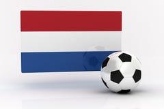 Niederländischer Fußball stock abbildung
