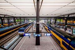 Niederländischer Zugverkehr stockfoto