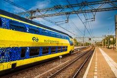 Niederländischer Zugverkehr lizenzfreie stockbilder