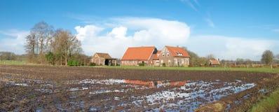 Niederländisches Bauernhaus Lizenzfreies Stockfoto