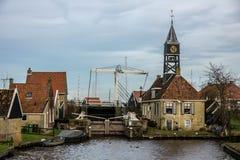Niederländisches Dorf Lizenzfreies Stockfoto