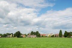 Niederländisches Dorf Achter-Drempt Stockbilder