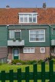 Niederländisches Fischerhaus Stockbild