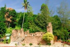 Niederländisches Fort, Pangkor, Perak, Malaysia Stockbilder