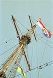 Niederländisches VOC-Schiff vom goldenen Jahrhundert von den Niederlanden lizenzfreies stockbild