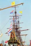 Niederländisches VOC-Schiff vom goldenen Jahrhundert von den Niederlanden lizenzfreie stockbilder
