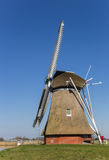 Niederländisches Windmühle ` Krimstermolen-` in Groningen Lizenzfreies Stockbild